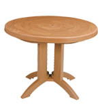 "Model US920008 | Atlantis 38"" Round Quick Folding Table"