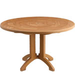 "Model US921208 | Atlantis 48"" Round Table w/Balcony Legs"