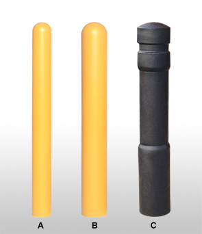 Models UT-1525 | UT-1526 |  UT-1743 | Ultra Post Protector Plus Bollard Covers