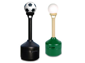 Ultra SmokeStop Sports Themed Cigarette Receptacles | Soccer Ball and Golf Ball