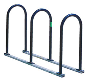 Model UT160-6-P | U-Two Bicycle Rack (Black)