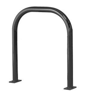 Model UX238-SF-P | Extended U Bike Rack (Black)