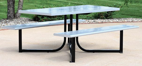 Wingra™ Collection Steel Picnic Table