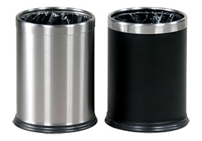 Model WHB14EBK & Model WHB14SS | Hide a Bag Lift Off Trash Cans
