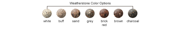 Weatherstone Color Options