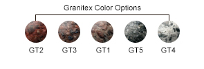 Granitex Color Options