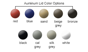 Lid Color Options