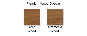 Premium Wood Options