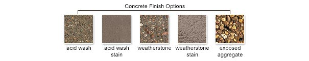 Concrete Finish Options