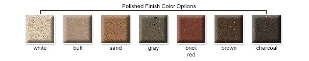 Polished Finish Color Options