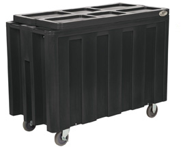 Model IRP-720 | Arctic Beverage Cooler Cart (Blue)
