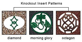 Knockout Insert Options