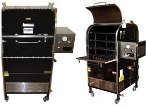 Model CTO-SSB | Barbecue Grill Smoker